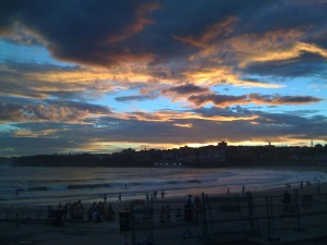 bondi-beach-sunset