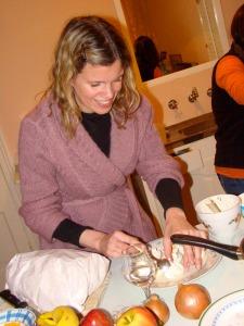 boiled egg anchovy starter